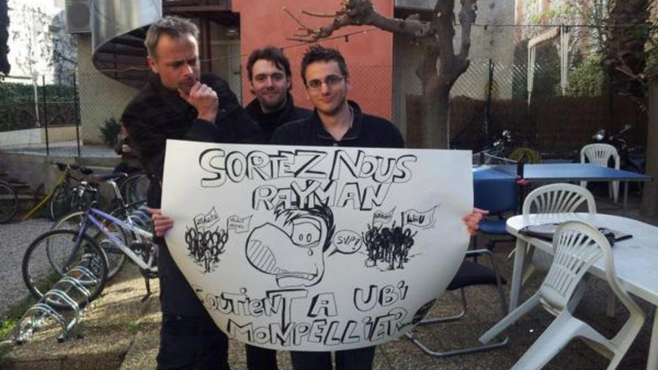 Rayman Protest