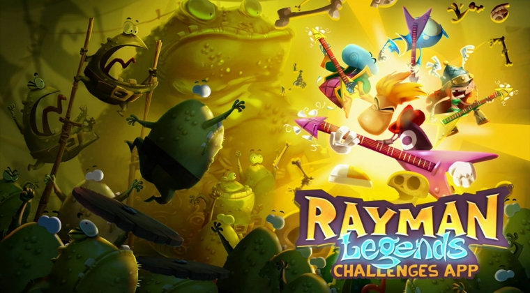 Rayman and crew rock out in the Challenges App