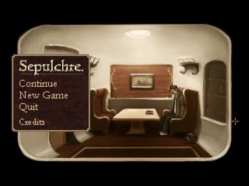 Sepulchre Title Screen