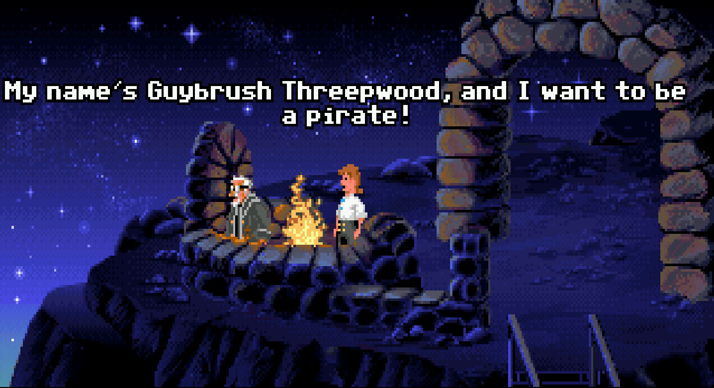The Attic – The Secret of Monkey Island