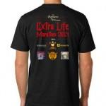 Extra Life Marathon 2014 T-Shirt Back