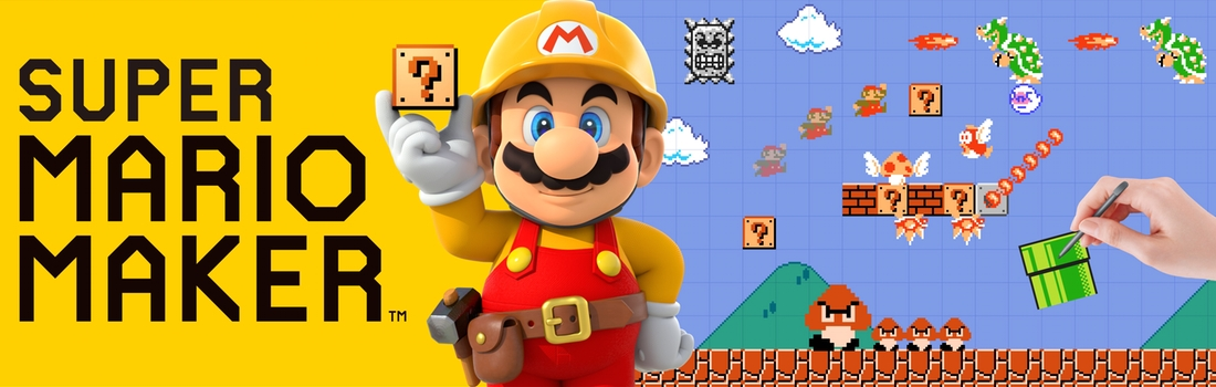 Super Mario Maker: DIY Mario