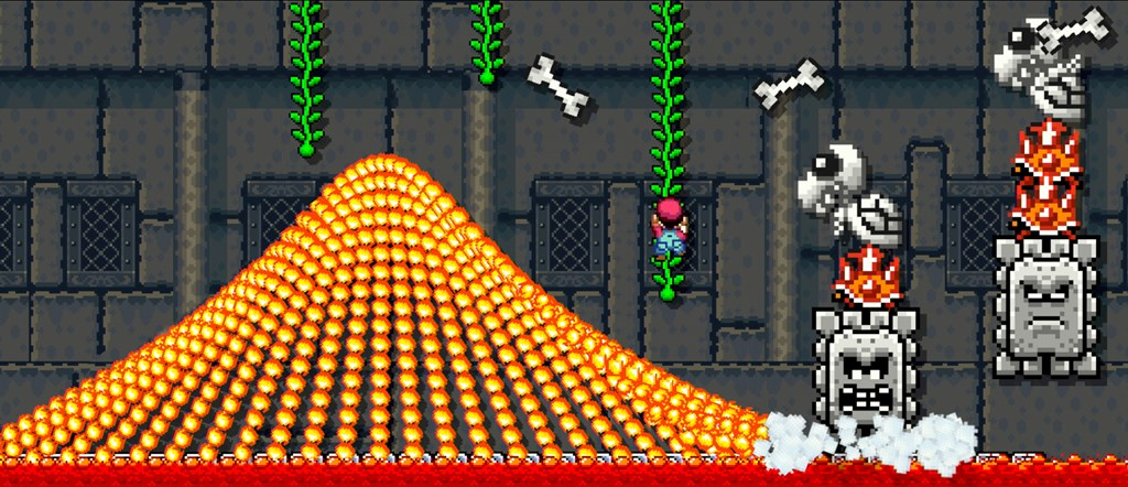 Create the crazy Super Mario World level you've always dreamed of.
