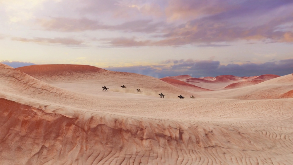 No bonus features to be found, but the desert level in Uncharted 3 looks GOOD.