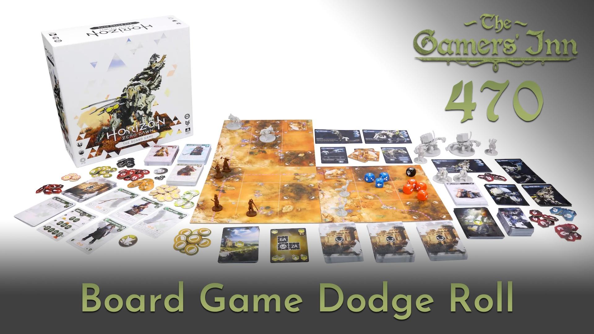 TGI 470 - Board Game Dodge Roll