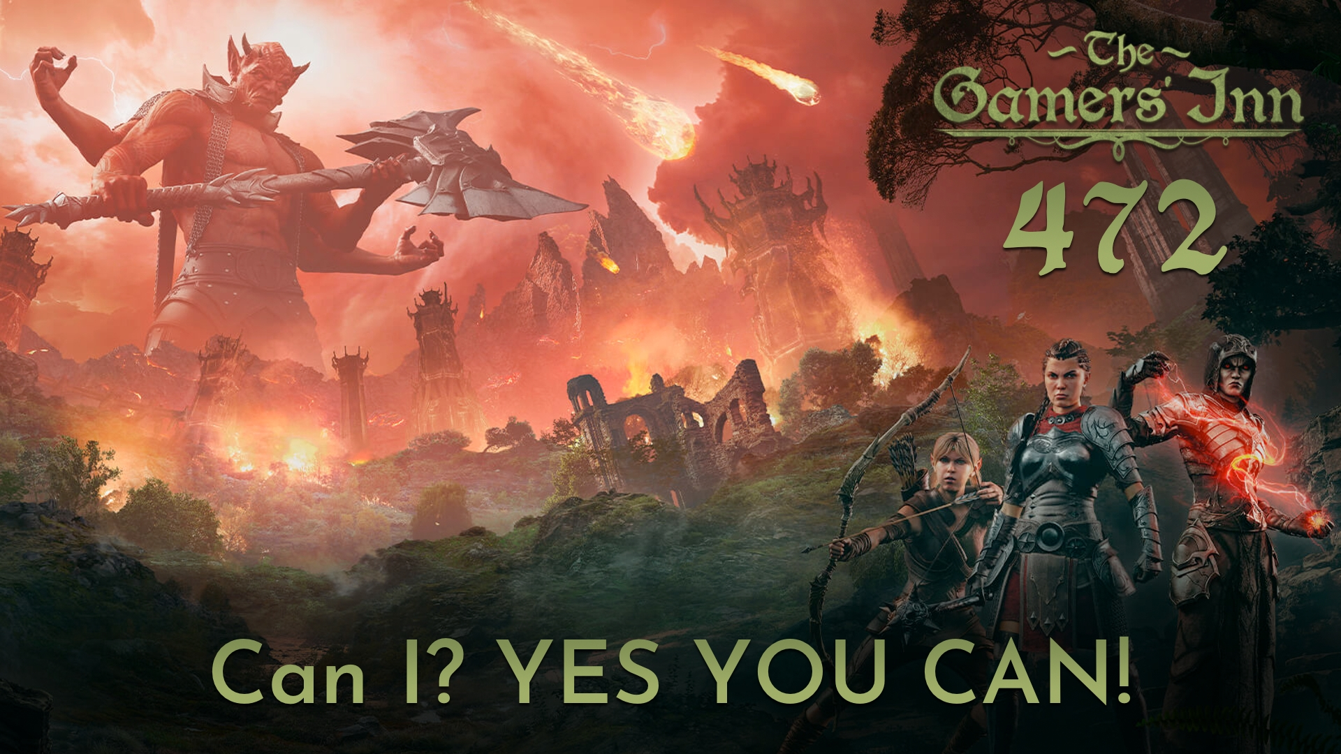 TGI 472 - Can I? YES YOU CAN!
