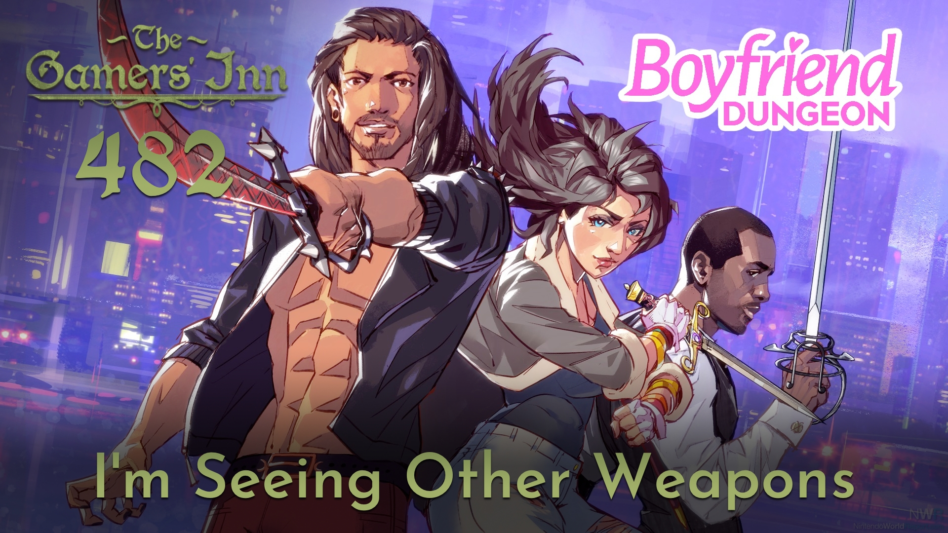 TGI 482 – I'm Seeing Other Weapons